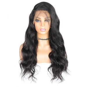 360 Frontal Wig 150% Density Body Wave Hair Virgin Human Hair Wigs