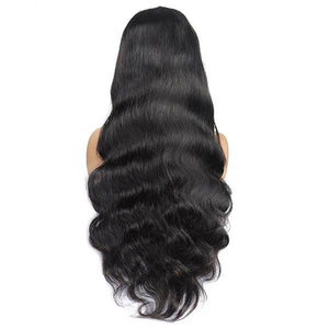 Ishow Flash Sale Straight Body Wave 4x4 Lace Closure Wig, Unprocessed Virgin Human Hair