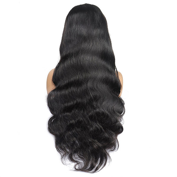 Ishow 4x4 Body Wave Lace Closure Wig 150% Density Malaysian Virgin Remy Human Hair Wigs