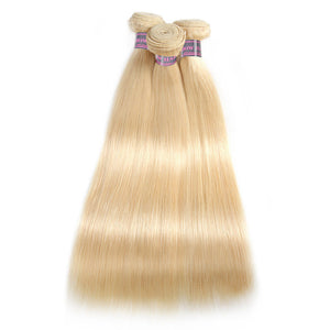 Ishow Hair 613 Blonde Straight Hair 4 Bundles Virgin Brazilian Human Hair