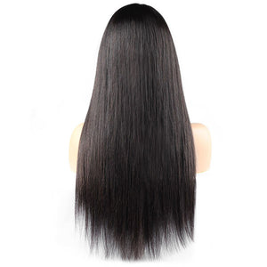 Ishow Hair 4x4 Lace Closure Wig Malaysian  Straight Weave Virgin Remy Human Hair Wigs