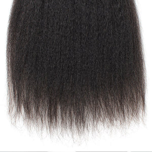 Ishow Hair Virgin Brazilian Hair Yaki Straight Human Hair Weave 3 Bundles