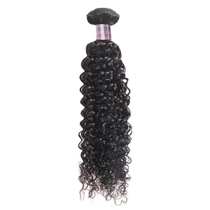Mongolian Curly Hair 4 Bundles Ishow Hair 100% Virgin Human Hair Extensions