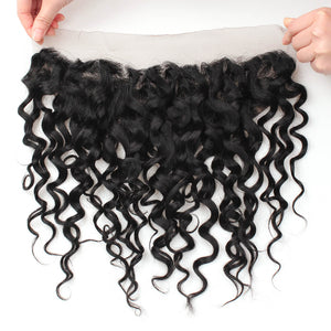 Ishow Water Wave Ear to Ear 13x4 Lace Frontal With Baby Hair - IshowVirginHair
