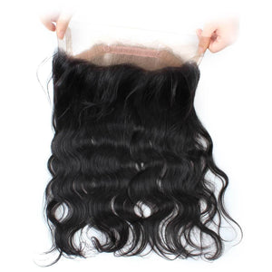 2 Bundles With 360 lace Frontal Ishow 100% Virgin Remy Human Hair Bundles Weave Body Wave Hair Extensions - IshowVirginHair