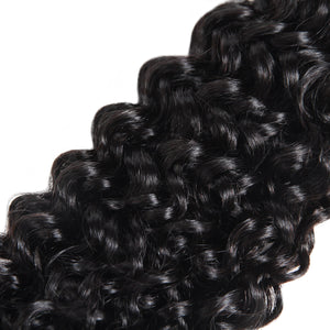 Ishow Hair Bundles Curly Weave Human Hair Bundles Extensions Natural Color - IshowVirginHair