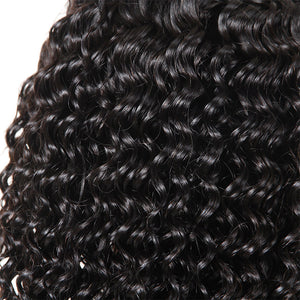 Ishow Hair Curly Hair Lace Front Wig 100% Virgin Remy Human Hair Wigs