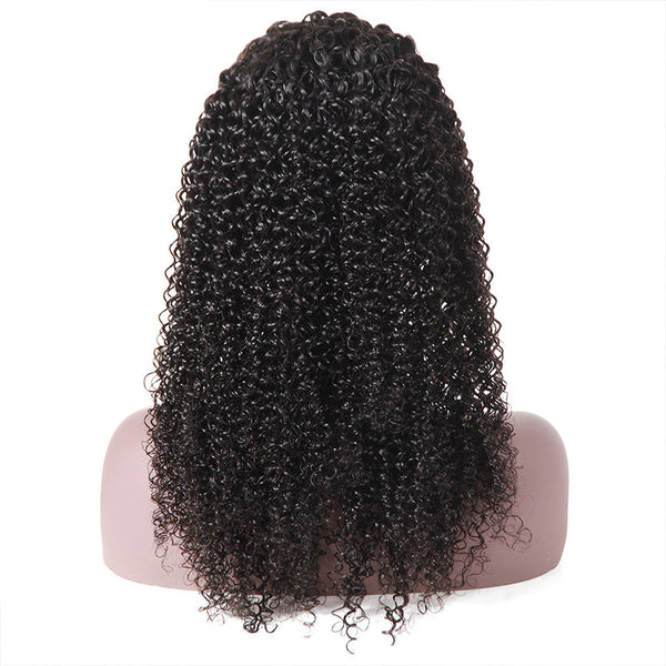Ishow Hair 100% Virgin Remy Human Hair Kinky Curly Lace Front Wig - IshowVirginHair