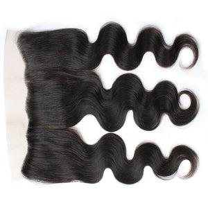 Ishow 100% Malaysian Body Wave Hair Weave 3 Bundles With Lace Frontal