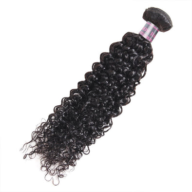 Ishow Hair Bundles Curly Weave Human Hair Bundles Extensions Natural Color