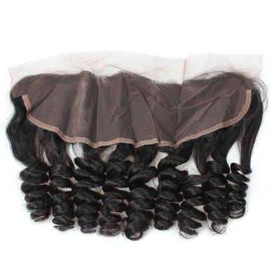 Loose Wave Ishow 13*4 Ear To Ear Lace Frontal Closure With Baby Hair Bleached Knots 100% Remy Human Hair Extensions - IshowVirginHair