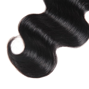 Ishow Hair 8A Virgin Human Hair Body Wave 4 Bundles With Lace Closure - IshowVirginHair