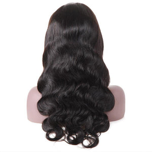 Ishow Hair Body Wave Lace Front Wig Virgin Human Hair Wigs