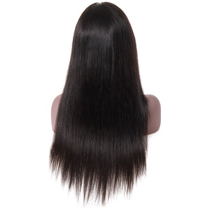Ishow Brazilian Straight Human Hair Lace Front Wig For Black Women