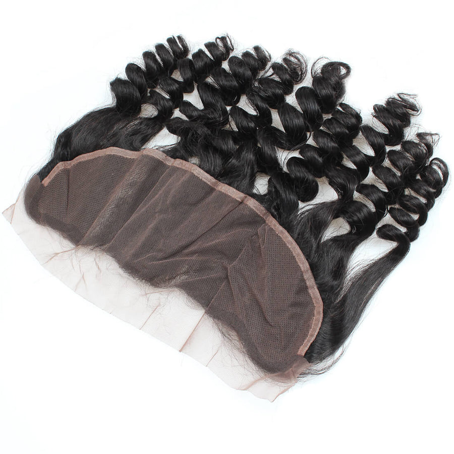 Loose Wave Ishow 13*4 Ear To Ear Lace Frontal Closure With Baby Hair Bleached Knots - IshowVirginHair