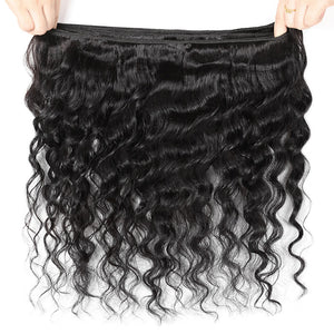 Ishow Hair Brazilian Loose Deep Wave 4 Bundles Virgin Human Hair Weave