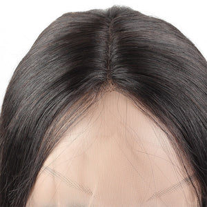 Ishow Straight Human Hair Short Bob Wig Lace Front Wigs