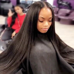 Ishow Virgin Brazilian Straight Hair Weave 4 Bundles Remy Human Hair Extensions