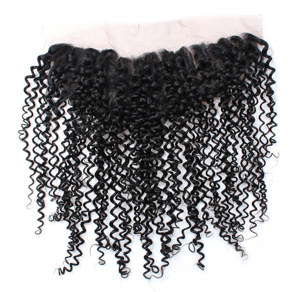 Ishow Hair Curly Virgin Remy Human Hair 13x4 Ear to Ear Lace Frontal With Baby Hair - IshowVirginHair
