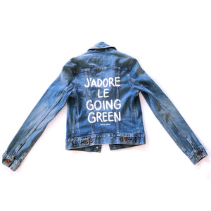 J'ADORE LE GOING GREEN - Reworked Denim Jacket