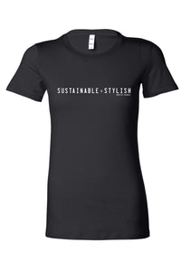 Sustainable = Stylish Tee