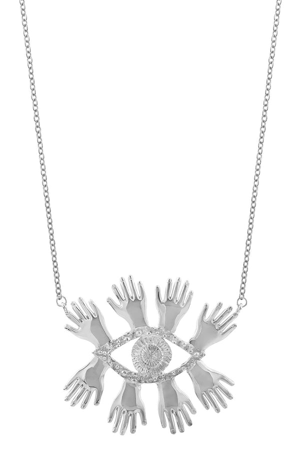 Abre los Ojos Necklace - HONESTA