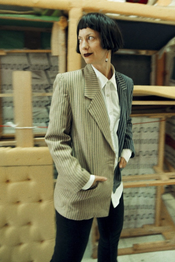 Beige / Gray Jacket - HONESTA