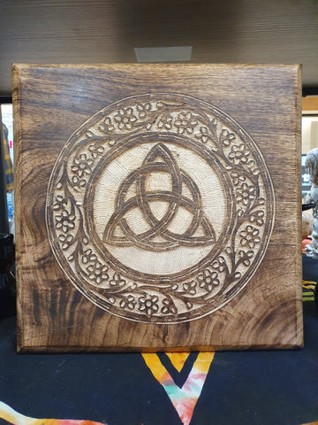 Altar Table Triquetra