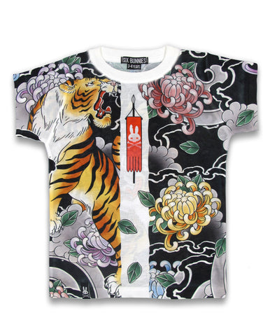 SIX BUNNIES Tiger Children's Tee