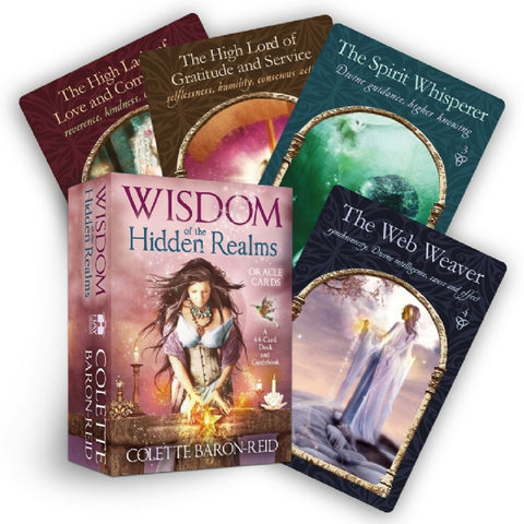 ORACLE CARDS - WISDOM OF THE HIDDEN REALMS