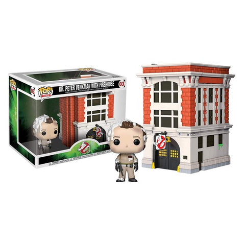FUNKO - GHOSTBUSTERS DR. PETER VENKMAN WITH FIREHOUSE