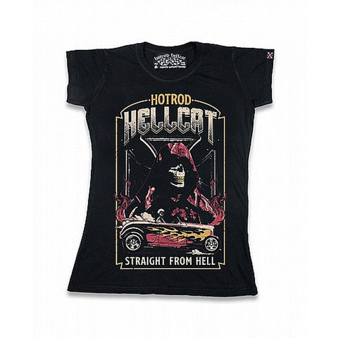 Hotrod hellcat WOMENS - straight from hell