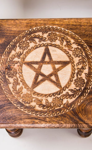 Altar Table Pentagram