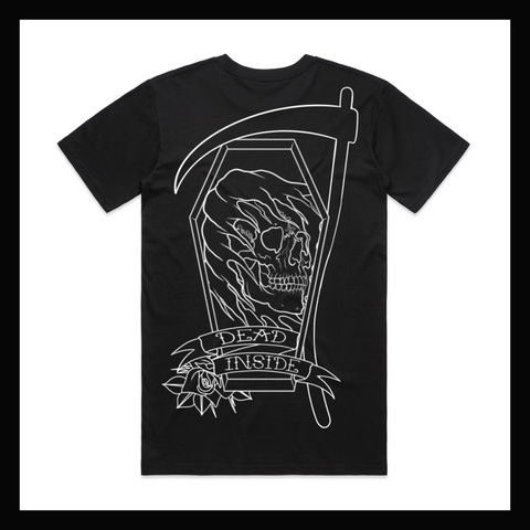 Skulled Clothing - Dead Inside tee