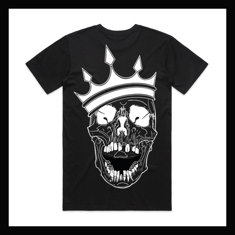 Skulled Clothing - Skull King tee {PRE-ORDER ONLY}