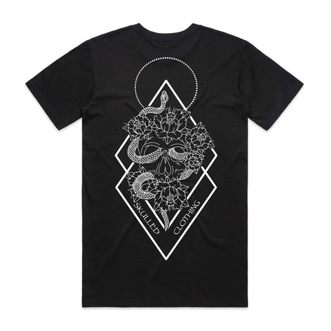 SKULLED CLOTHING - SNAKE MENS TEE