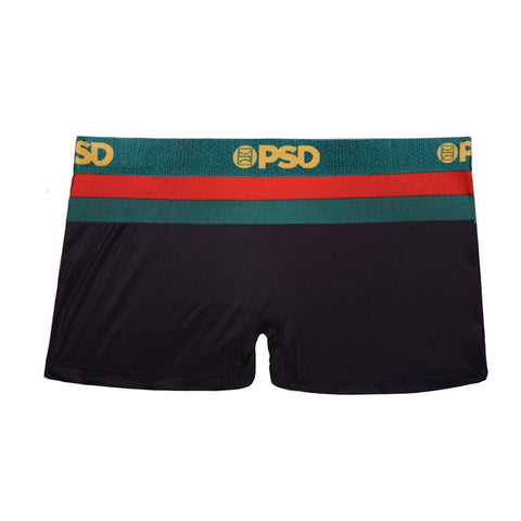 PSD - Red, Green & Gold Boy Shorts