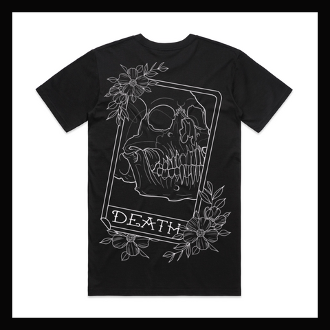 Skulled Clothing - Death Card tee