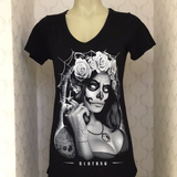 DIRTBAG - ZOMBI REINA WOMENS TEE