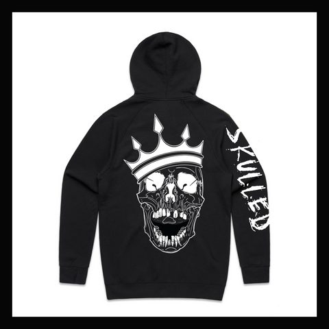 Skulled Clothing - Skull King zip hoodie