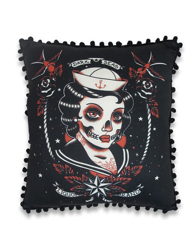 LIQUORBRAND - DARK SEAS PILLOW