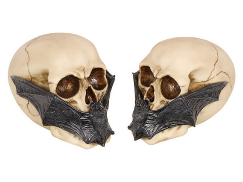SKULL HEAD WITH BAT MASK