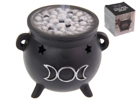 INCENSE CONE CAULDRON BURNER