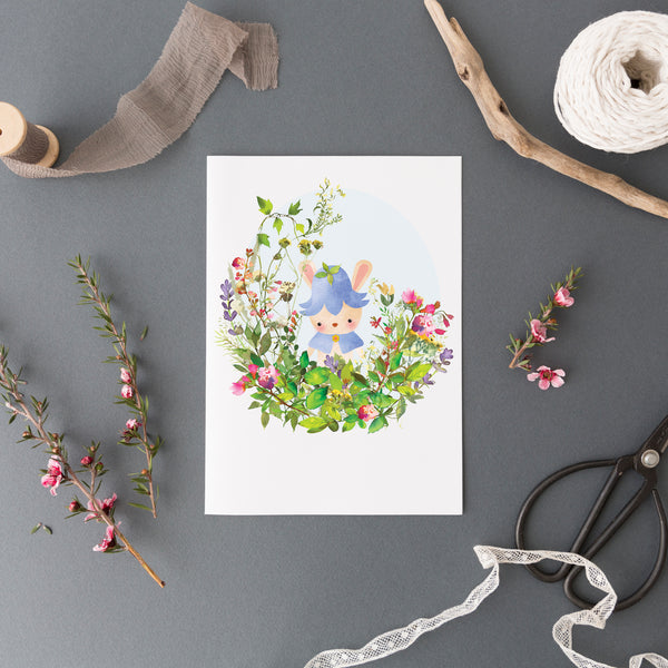 Harebell Greetings Card