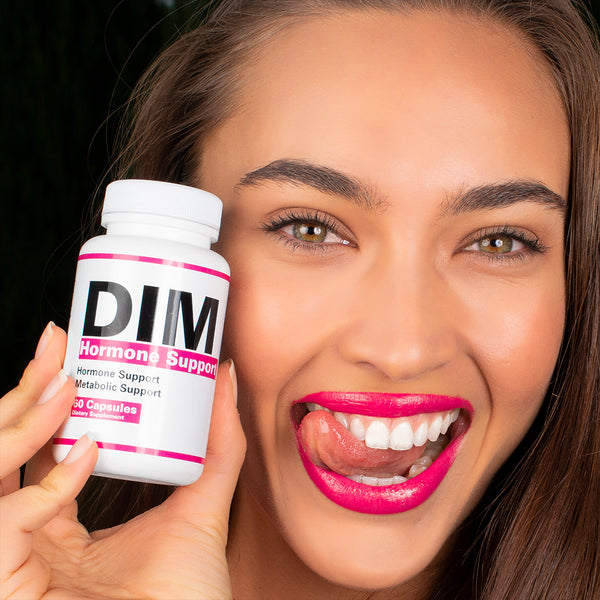 LET'S TAKE A LOOK AT DIM Hormone Support
