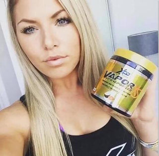 VaporXS thermo weight loss girl exercise blue eyes scoop pretty blonde
