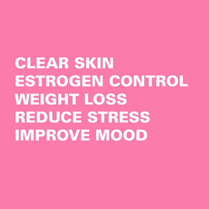 XCD Nutrition DIM weight loss clear skin