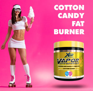 XCD NUTRITION vaporXS cotton candy fat burner thermo control cravings