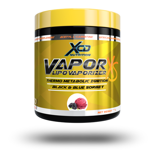 XCD NUTRITION vaporxs Blue black sorbet fat burner thermo control cravings