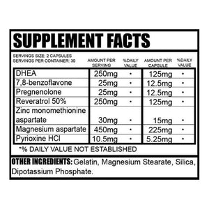 I-Procreate PCT Nutritional Information
